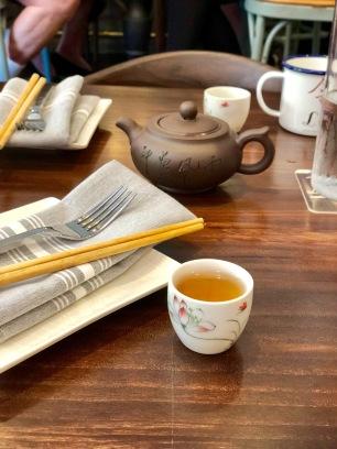 Jasmine Tea at Lin Asian Bar + Dim Sum Restaurant