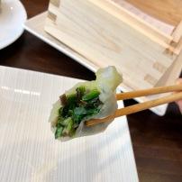 Spinach & Shiitake Dumpling