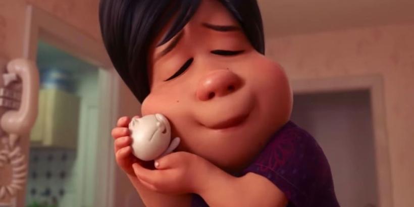 "Screenshot from Pixar's ""Bao"" short film"
